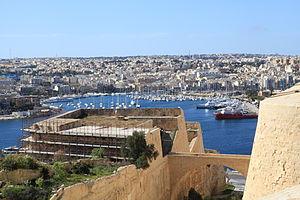 Counterguard - Saint Michael's Counterguard in Valletta, Malta.