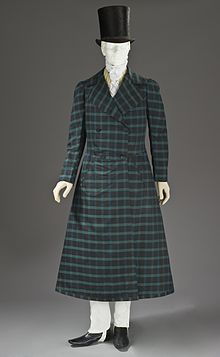 Mans Wool And Silk Twill Frock Coat France 1816 1820 Los Angeles County Museum Of Art M2010337