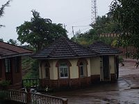 Mangalore still retains its old world charm such as red tile-roofed houses inspite of globalization pervading the city.