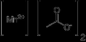 Manganese(II) acetate - Image: Manganese acetate