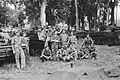 Manschappen 2e Eskadron Pantserwagens KNIL poseren voor hun voertuigen, Bestanddeelnr 333-2-1.jpg