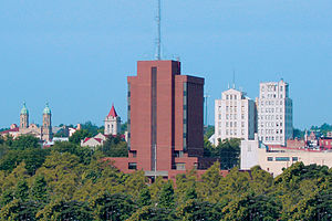 Mansfield, Ohio - Skyline of downtown Mansfield