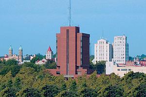 Mansfield, Ohio - Skyline of downtown Mansfield