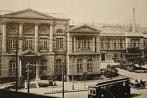 South Manchuria Railway - Headquarters of South Manchuria Railway, Dalian