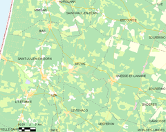 Map commune FR insee code 40182.png