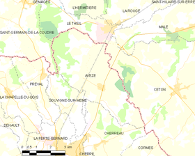 Map commune FR insee code 72020.png