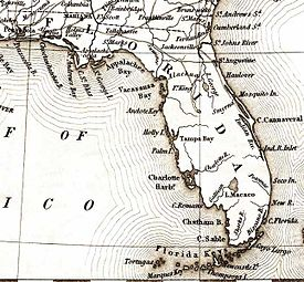 Florida Shipwrecks Map.Maritime History Of Florida Wikipedia