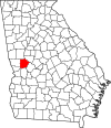 Map of Georgia highlighting Talbot County.svg