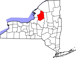 Map of New York highlighting Lewis County.svg