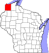 State map highlighting Douglas County