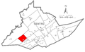 Map of Worth Township, Centre County, Pennsylvania Highlighted.png