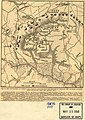 Map of the battle-field of Gaines's Mill, showing approximately the positions of infantry and artillery engaged. (The topography from the official map.) (June 27, 1862). LOC 99439166.jpg