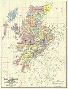 Cartina Scozia Pdf.Clan Scozzese Wikipedia