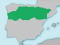 Mapa Cobitis calderoni.png