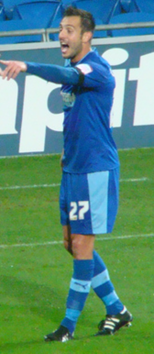 Marco Cassetti - Cassetti playing for Watford