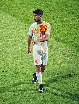 Marco Asensio - Asensio with Spain U21 in 2017