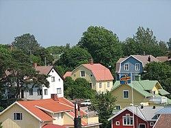 Vista de Mariehamn