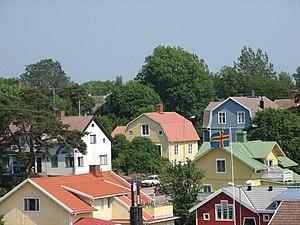 Mariehamn - View of Mariehamn