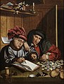 Marinus van Reymerswaele - The Money Changers - 25.037 - Rhode Island School of Design Museum.jpg