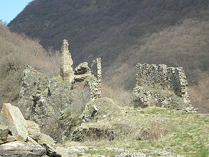 Vranje - Markovo Kale, ruins of a medieval fortress.