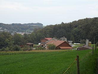 Marly, Fribourg - Chésales village