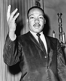 Dr. Martin Luther King, Jr. (courtesy Wikipedia)