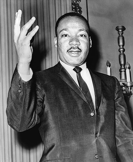 Baptist pastor Martin Luther King Jr. Martin Luther King Jr NYWTS.jpg