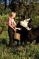 MaryJane & cows, 2005..jpg