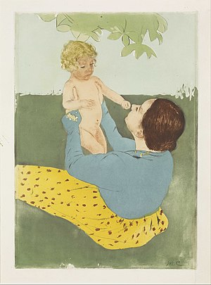 Mary Cassatt - Under the Horse-Chestnut Tree - Google Art Project.jpg