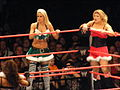 Maryse and Beth - Santa's Little Helper match.jpg