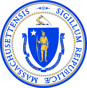 State Seal of Massachusetts.
