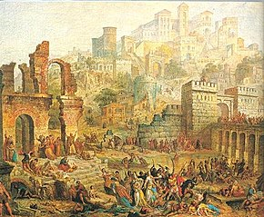 Massacre of Jewish People in Metz during the First Crusade