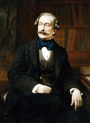 Massimo d'Azeglio - Portrait of D'Azeglio by Francesco Gonin (1850)