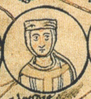 Matilda of France - Depiction in the Ottonian genealogy, Chronica sancti Pantaleonis (12th century)