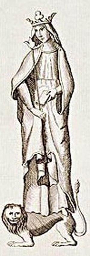 Matilda of Flanders - 18th-century impression of Matilda