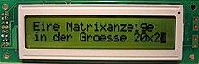 Dot-matrix display