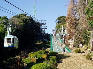 Matsuyama Castle (Iyo) - Image: Matsuyama castle Ropeway&Chairlift(Iy o)
