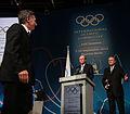 Mauricio Macri recibió un reconocimiento del Comité Olímpico Internacional (9723377671).jpg