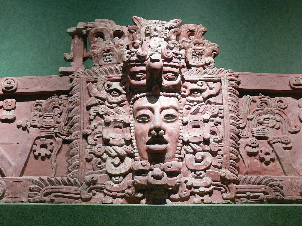 Stucco frieze from Placeres, Campeche