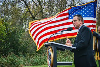 Jim Schmitt - Schmitt at VA Clinic groundbreaking ceremony