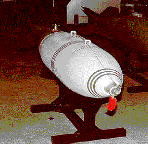 An MC-1 gas bomb