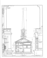 McKendree College, Chapel, College Square, Lebanon, St. Clair County, IL HABS ILL,82-LEBA,1B- (sheet 4 of 6).png