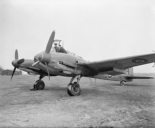 Me 410 A-3 at Collyweston 1944