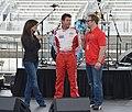 Meade, Schnatter & Smith at Charlotte Motor Speedway 2013 (8929996982).jpg