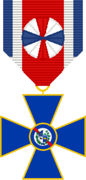 Medal of Military Merit (Uruguay) - Image: Medalla al Merito Militar Oficial