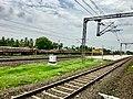 Medapadu railway station board.jpg