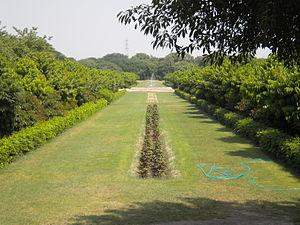 Mehtab Bagh - Image: Mehtab Bagh lawn