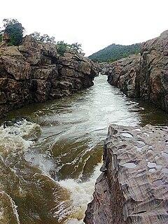 Mekedatu waterfall