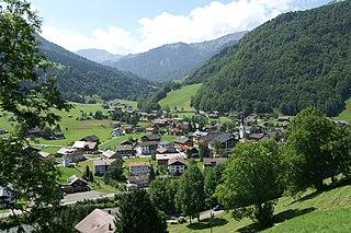 Mellau Place in Vorarlberg, Austria