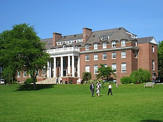 Choate Rosemary Hall - Memorial House, named for alumni who died in World War I, was completed in 1921